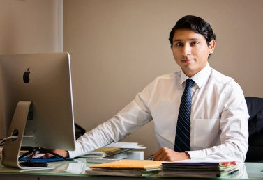Legal Assistant Chris Madrid